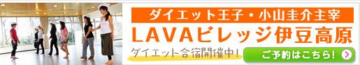 ダイエット王子・小山圭介主宰の宿泊型ダイエット施設「LAVAビレッジ伊豆高原」